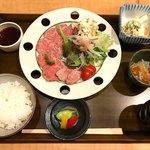 こきづ - ローストビーフ膳