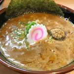 塚本 一盃 - 豚骨魚介つけそば つけ汁