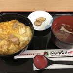 秋田比内や - 料理写真:ミニ親子丼