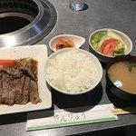 75398051 - 牛ロースステーキ定食