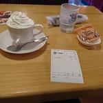 コメダ珈琲店 - ウィンナーコーヒー