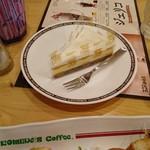 コメダ珈琲店 - ベイクド&レア(チーズケーキ)