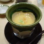 鮨 由う - 梅餡の茶碗蒸し