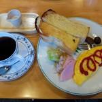 天津甘栗と喫茶くりやさん  - 料理写真:Bモーニング(全体)