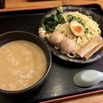 竹本商店☆つけ麺開拓舎 - 本マグロあら炊きつけ麺 950円