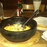 レイクサイドバー ロア - 料理写真:ハンバーググラタンwithフォカッチャ 美味しかったです。