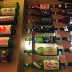 重蔵 - ドリンク写真:地酒は四〇種類以上!
