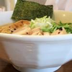 自家製麺 ラーメンK - ラーメン塩