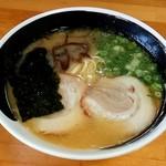 麺匠 いち武 - とんこつラーメン(500円)朝ラーメン
