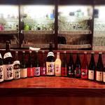 日本酒バー にゃごりん - 豊富に田酒はあります。