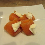 garettokafemoga - サーモンとクリームチーズ
