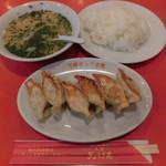 75403154 - 定食(餃子定食) 650円