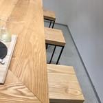 東京茶寮 - カウンターと椅子