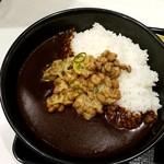 吉野家 - 納豆黒カレー
