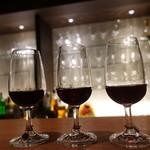 ワインバー コリエドール - ☆3種類の赤ワイン(●^o^●)☆