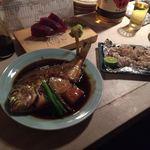 酒ト壽 - 金目鯛煮付け ¥1,180-+生鮪 ¥980-+白子昆布焼 ¥680-