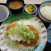 かつさと - 料理写真:ねぎおろしチキンカツ定食ランチ600円