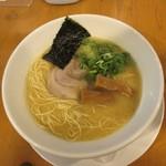 ろく月 - 豚白湯ラーメン