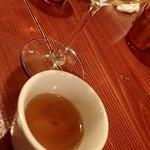 マリスコ - カルド(ブイヨンスープ);何気無いですが, 入りの温かい一杯は和みますね(^^) @2017/10/21