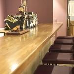 Wine Bar G - カウンター席