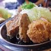レストラン エデン - 料理写真:ヒレカツ、メンチカツ、鳥のカツ