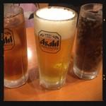 四川麻辣火鍋 天府 - 生ビール