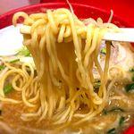 らーめん弁慶 - 麺 2017.8.29