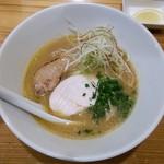 75409307 - 双鶏白湯ラーメン(700円)