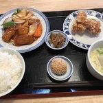 中華料理 福禄 - 木曜日の日替りランチ 酢豚定食=650円