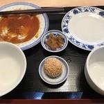 中華料理 福禄 - ほら、ほぼ完食