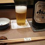 Tada - 中瓶ビール 2017年10月
