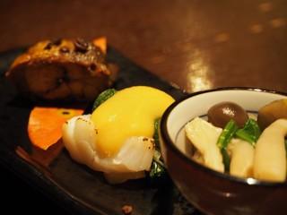 遊帆亭 - ホタテ酢味噌