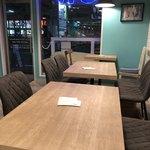 SLOW cafe - 店内…テーブル席
