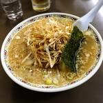 村山ホープ軒 - チャーシュー麺+ネギトッピング