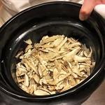 75415032 - 信州産 松茸ご飯 炊き上がりました!