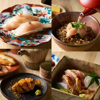「大和肉鶏」の魅力を最大限に伝える、こだわりの鶏割烹料理