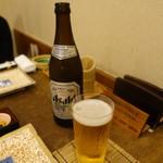 えびす 今井屋總本店 - 瓶ビール690円+税