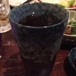 大分の鳥料理とお酒 如水 - 黒霧島水割り