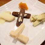 ばーる ばなーれ - チーズ5種の盛り合わせ