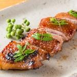 焼鳥 嘉とう - 軍鶏の山椒焼
