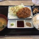 75421473 - 牛カツ定食(1,000円)