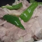 75421567 - 地養豚と野菜の蒸し焼き