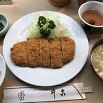 井泉 - ひれカツ定食