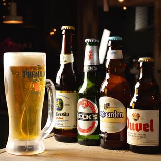 ★ヨーロッパのクラフトビールをご用意♪