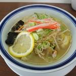 中華そば 上々 - 野菜塩タン麺(限定)