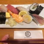漁師寿司 海蓮丸 - 寿司ランチ:にぎりと巻