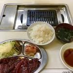 東 - 大盛ハラミランチ950円税込