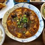 菜根譚 北海道中華 - 麻婆豆腐激辛お願いしました。