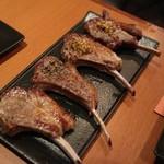 ラム肉バル 結 - ラムチョップ