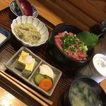 りしり - ネギトロ丼定食1180円